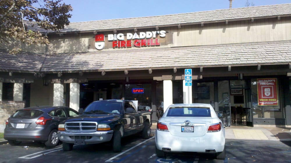 Big Daddy's Fire Grill - Pasadena, CA, United States. 112612: front of restaurant...