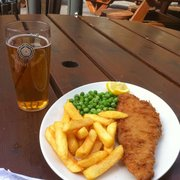 Ale with some Fish N' Chips