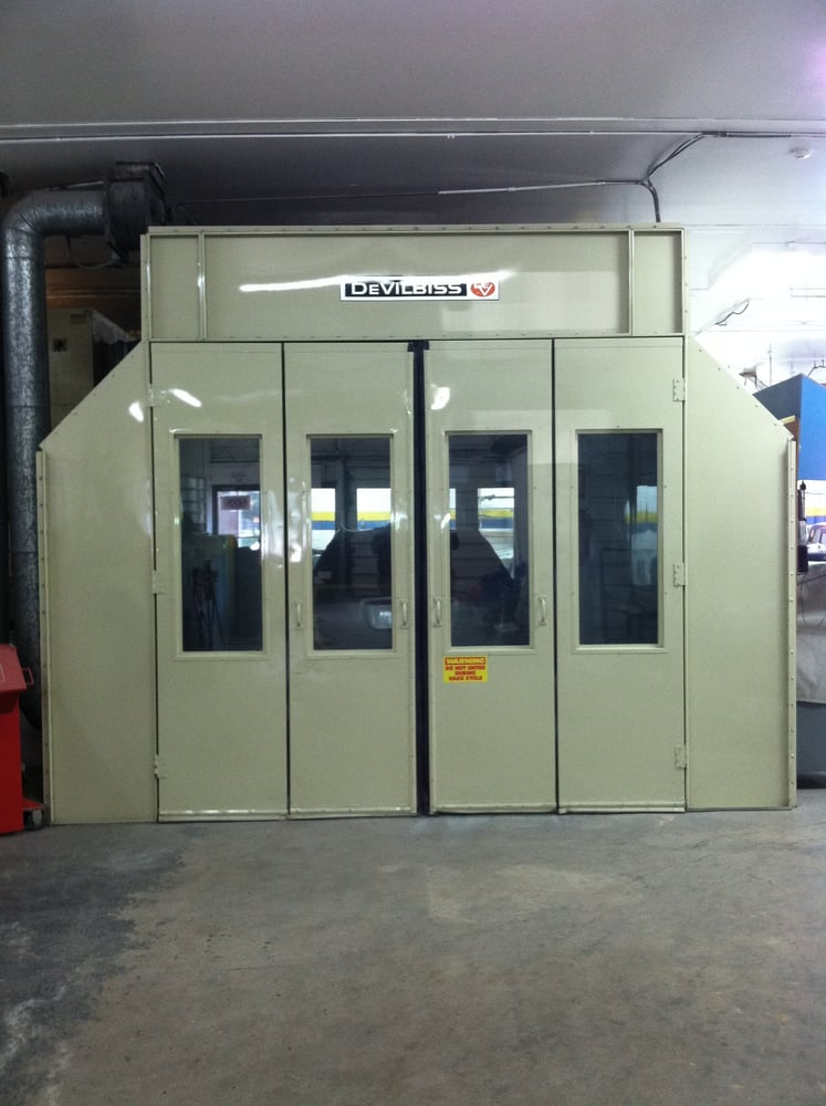 Auto Repair Stores >> Devilbiss downdraft paint booth | Yelp