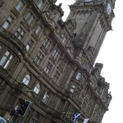 The Balmoral Bar, Edinburgh, UK