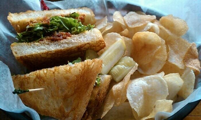 Fried Oyster And Bacon Sandwich Recipe — Dishmaps