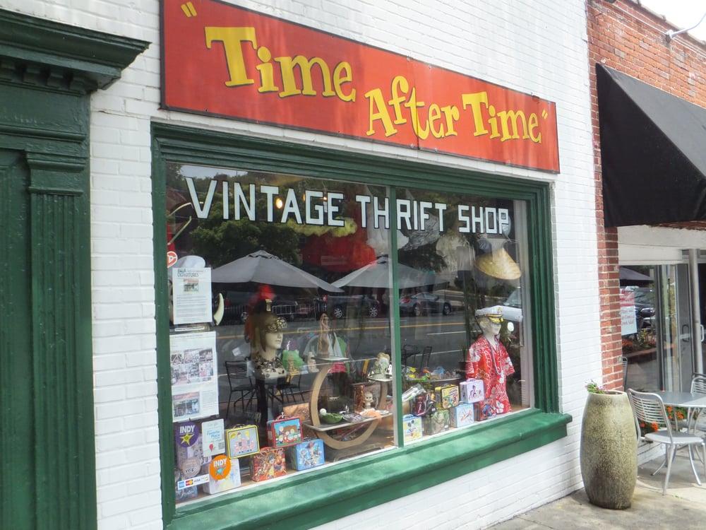 The vintage thrift shop