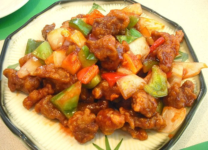 how to make sweet and sour pork cantonese style