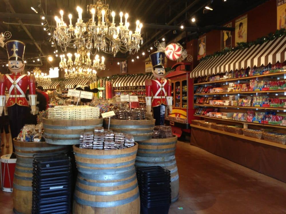 Candy Shop In North Beach San Francisco