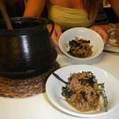 Arros D'olla Valenciana. Yum! One of our best dishes in BCN...take a break from paella!
