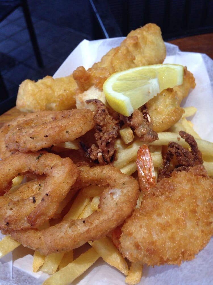 Island fish chips 65 photos seafood restaurants for Jj fish and chips