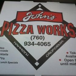 Z Pizza Mammoth Menu John s Pizza Works - Mammoth