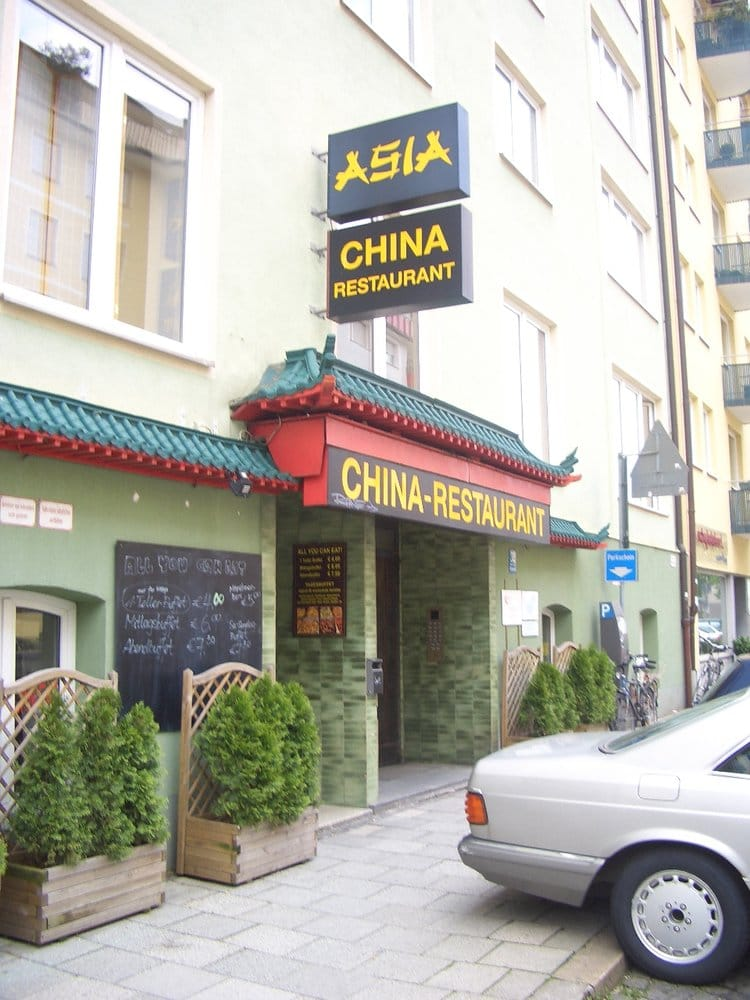 china restaurant asia lukket kinesisk schwabing west m nchen bayern tyskland. Black Bedroom Furniture Sets. Home Design Ideas