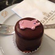 Sacher mini torte m. Weihn, 2.90 Euro