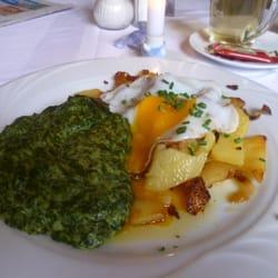 Spinat mit Ei für 7,80