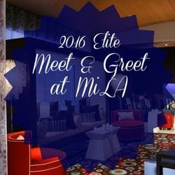 where the elite meet and greet