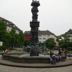 Historiensäule, Koblenz, Rheinland-Pfalz