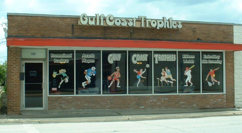 Awards by gulf coast trophies 12 photos screen for T shirt printing pasadena tx