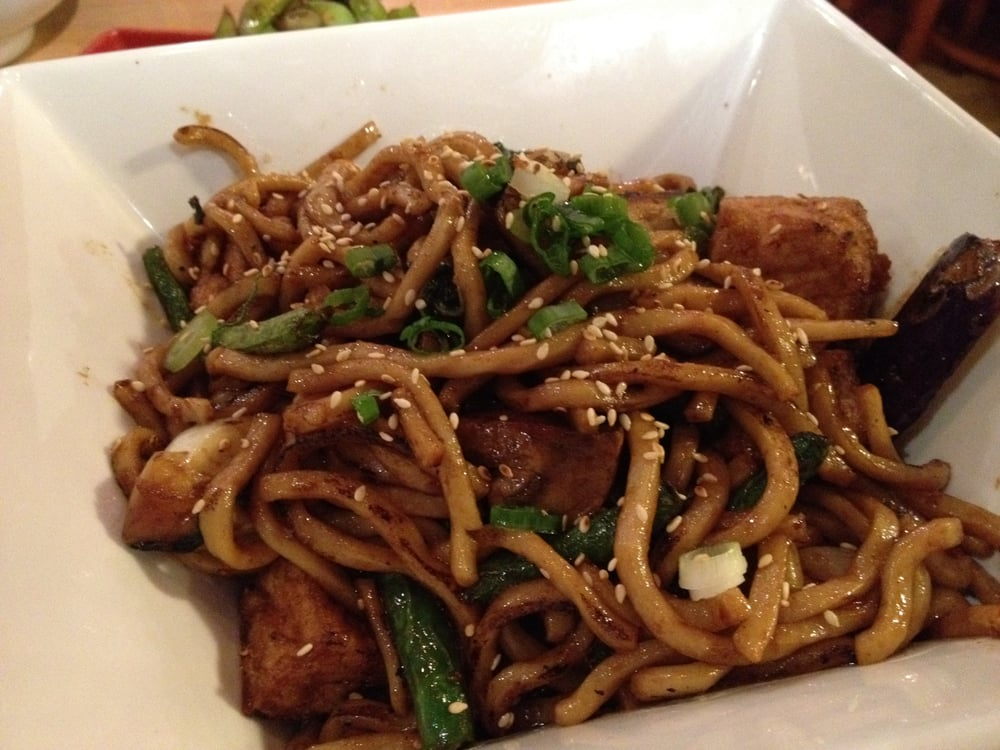 Garlic Tofu Noodles Noodle Theory Tofu And