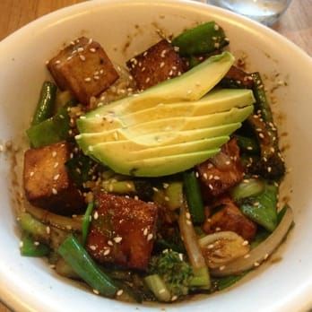 True Food Kitchen Houston Tx United States Teriyaki Brown Rice Bowl With Tofu