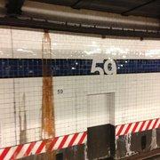 Lexington Avenue - 59th Street MTA Subway Stop Complex - New York, NY, États-Unis