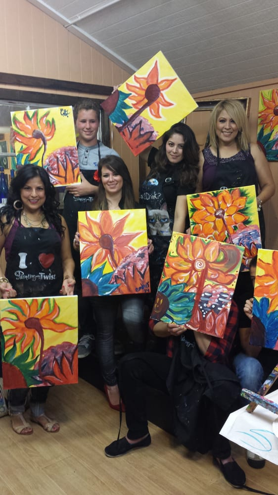 Painting with a twist 25 photos paint sip 555 w for Painting with a twist san diego
