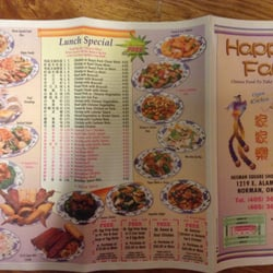 Happy family chinese restaurant chinese norman ok for Asian cuisine norman
