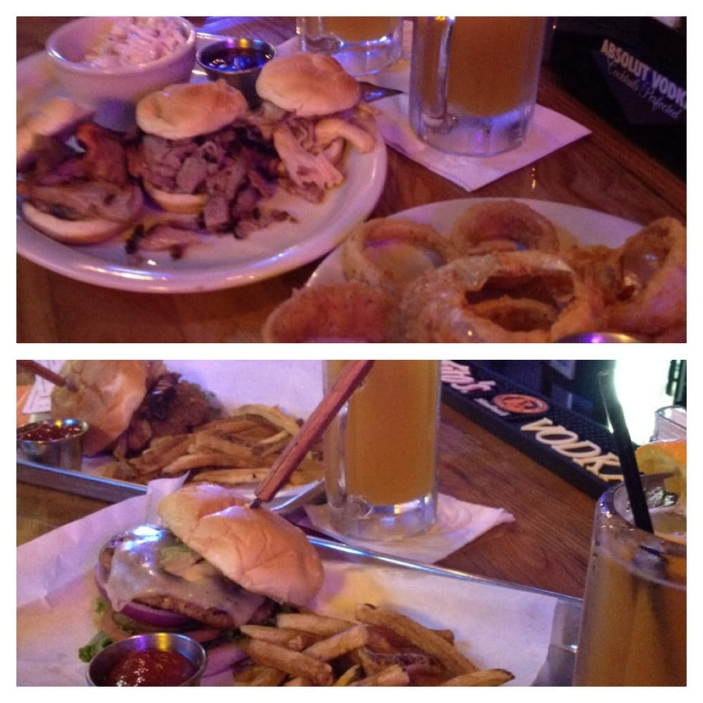 ... Onion Rings, Brisket Burger, Skinny Turkey Burger and Blue Moon | Yelp