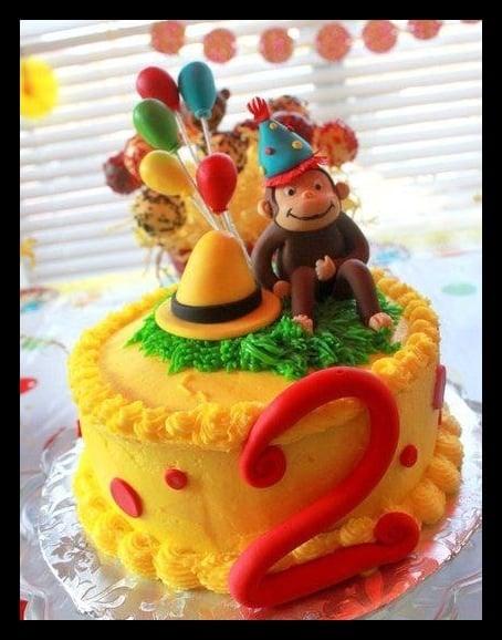 Curious George Birthday Cake All Edible Yelp