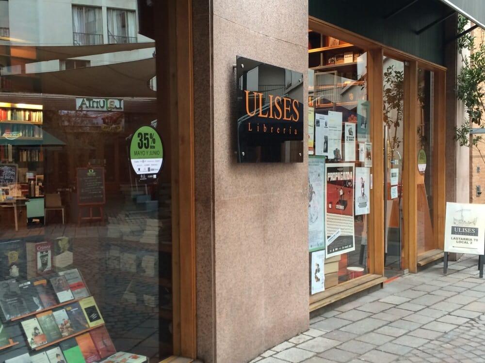 Librer a ulises librer as santiago centro rm santiago de chile chile rese as fotos yelp - Libreria couceiro santiago ...