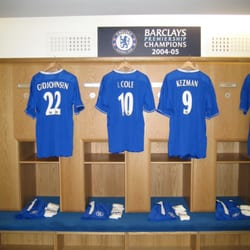 Stadium tour - the dressing room of the champions