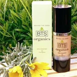 Behind The Seen...BTS Organics - Skincare & Make up Studio logo