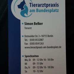 Tierarztpraxis am Bundesplatz ...…