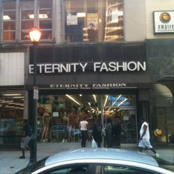 Online clothing stores. Eternity clothing store