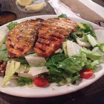 California fish grill cajun salmon salad yummy irvine for California fish grill gardena ca