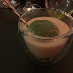 Esens'ALL - Paris, France. This is super smooth leek soup...amazing flavor....