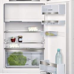 Integrierte Kühlschrank der Fa. Siemens