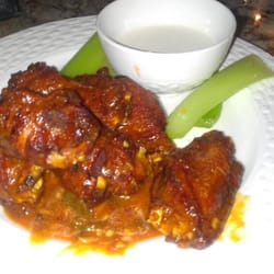 ... wings with homemade bleu cheese dressing. - Tampa, FL, United States