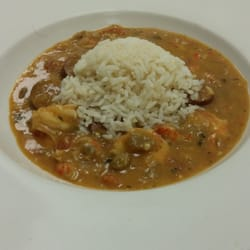 Creole Cajun Bistro - Shrimp, crawfish and andouille sausage etouffee ...