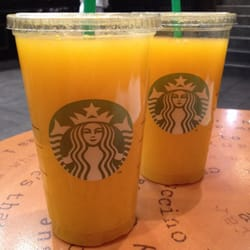 Starbucks - Paris, France. 5,25€ for a Venti Fresh Squeezed OJ