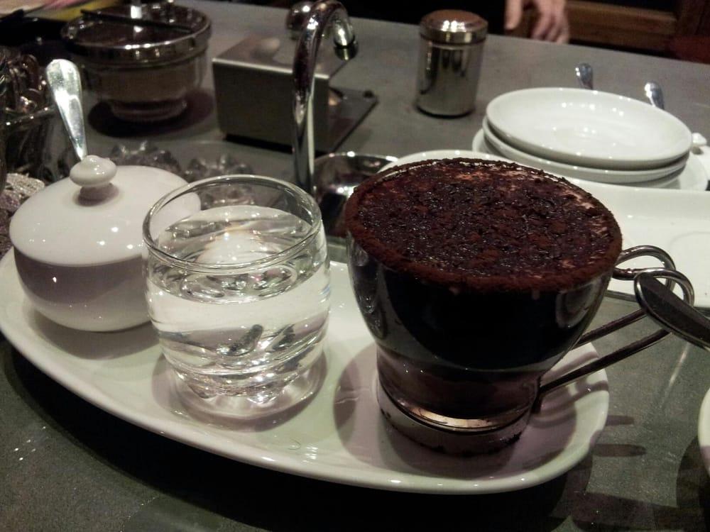 Chocolate Coffee Shakerato Recipe — Dishmaps