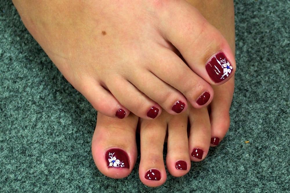 Toe nail designs yelp for A nail salon fort wayne in