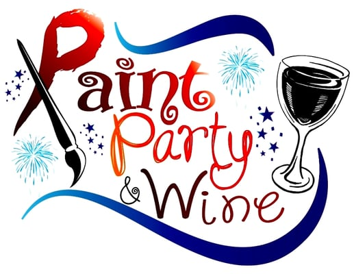 paint party and wine by reagan guzman studio vino in