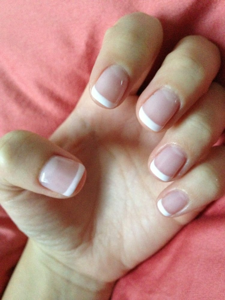 Hana Nail Spa - French tip gel manicure to perfection! - Long Beach