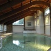 Our heated indoor pool and Spa Bath