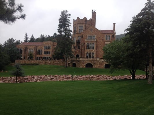 Glen Eyrie Castle Afternoon Tea Tea Rooms Colorado