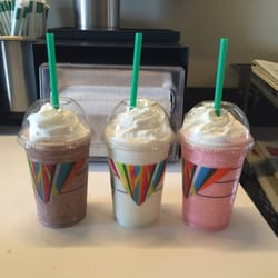 Starbucks - Placerville, CA, États-Unis. The new Frappuccino's have arrived!