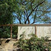 GreenCali - Buena Park, CA, États-Unis. wood fence
