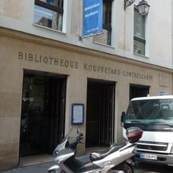 Bibliothèque Mouffetard Contrescarpe, Paris, France