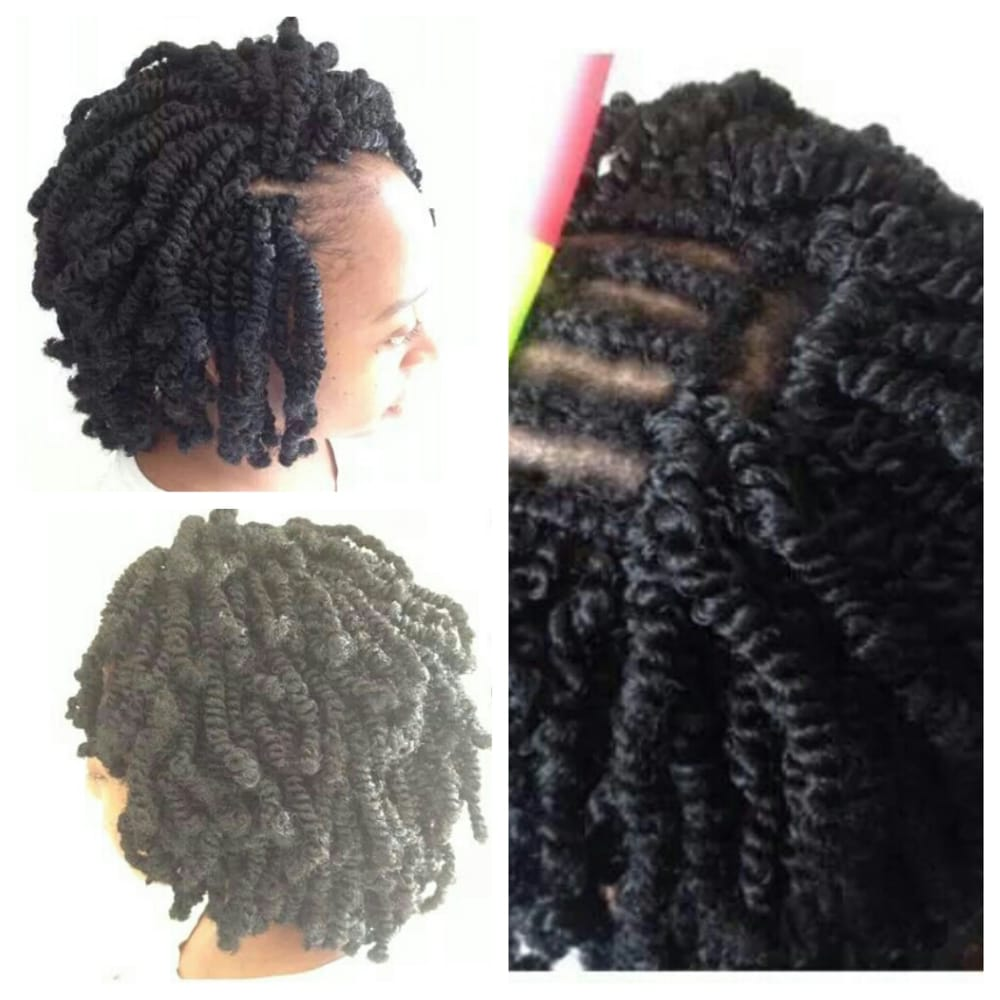Hair Braiding - Chicago, IL, United States. Nubian twists crochet ...