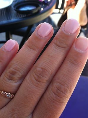 Kayla Nails - shellac manicure gone wrong!!!!! - San Jose, CA, United