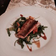 Salmon dish to go with our white wine…
