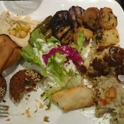 Die vegetarische Platte