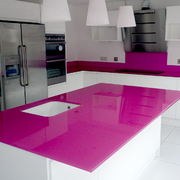 Interior Glazing Pink Splashbacks Epsom