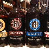 We also stock craft beers from Battersea's Sambrook's Brewery